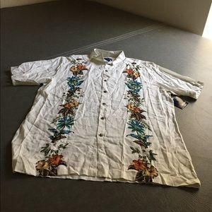 Men s shirt with palm tree on it